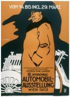 International Automobile Exhibition Poster