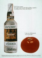Wolfschmidt's Vodka Advertistment