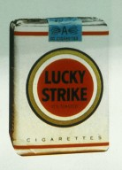 Lucky Strike Cigarette Package