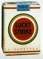 Lucky Strike Cigarette Package
