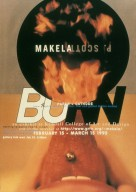 Exhibition Poster for Burn: Paper + Cathode