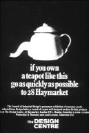 Advertisement for the Design Center