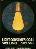 Light Consumes Coal/Save Light/Save Coal