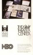 University of California Los Angeles Alumni Association Logo; O'Neill Theater Center Logotype; HBO Mark