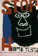 Stop H Bomb Tests Poster