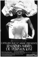Theater Poster for 'Les Larmes Ameres de Petra von Kant'