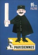 Poster for Parisiennes Cigarettes