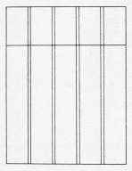 Book Design Project #1, Grid