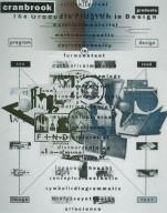 Cranbrook Graduate Program Poster