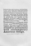 Cranbrook Design, Book Page