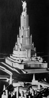 Design for the Palace of the Soviets, Prize-Winning Design