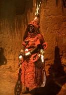 Chief Osuma in Ceremonial Court Dress, Wearing Pagolin Skin Shirt