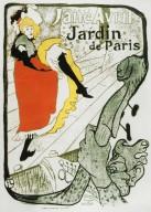 Jane Avril, Jardin de Paris