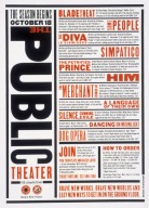 The Public Theater Magazine Advertisement