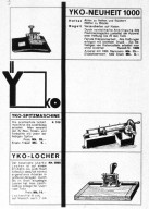 Advertising Page for YKO Products