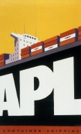Calendar / Poster for APL Shipping