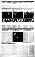 European Journal Newspaper