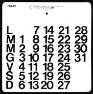 Fenzi Company Calendar