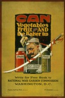 WWI Poster: Can Vegetables, Fruit, and the Kaiser Too
