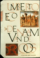 Book Cover, The Name of the Rose