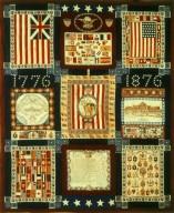 1876 Centennial Commemorative Kerchiefs Quilt 2
