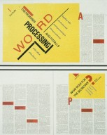 Magazine Spreads Based on Polish Constructivism