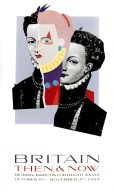 Neiman Marcus Fortnight Poster: Britain, Then and Now Poster