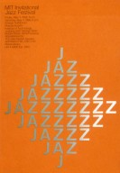 MIT Invitational Jazz Festival Poster