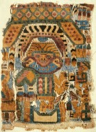 Fragment of Woolen Tapestry with Anthropomorphic Figure Design