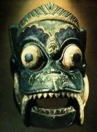 Wayang Topeng Mask: Demon