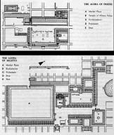 Priene: Plans of the Agoras
