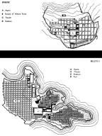 Plans of Miletus and Priene