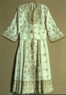 Woman's Skirt and Blouse