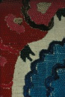 Detail of Blue and Red Embroidery