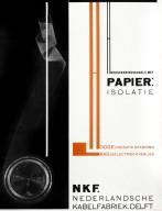 Nederlandsche Kabelfabriek Delft Catalog Advertisement with Photogram