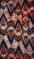 Masterpiece of Ikat Geometry