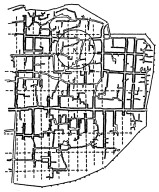 Old Town of Damascus with Parts of Roman Street Grid