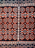 Men's Shoulder Cloth with Composite Design from Sumba