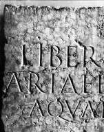 Capitalis Monumentalis on Stone