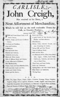Merchant's Broadside