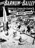 Barnum and Bailey Water Circus Poster