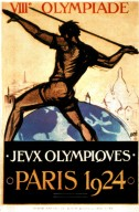 Games of the VIII Oympiad Poster, Paris