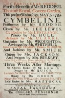 Theater Poster for 'Cymbeline'