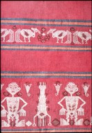 Indonesian Woman's Shirt with Human Figures from Sumba