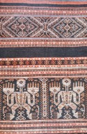 Indonesian Woman's Shirt with Human Figure from Sumba