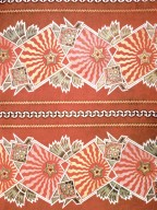 Decorative Cotton Print with Gears