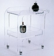 Plastic Drink Trolley
