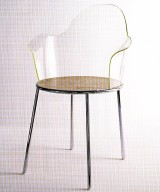Acrylic Back Chair