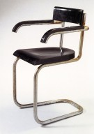Cantilevered Armchair