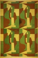 Textile Design with Cubist Forms